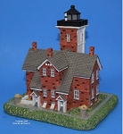 Scaasis Large Lighthouse Replica, Forty Mile Point, Michigan, SC289B